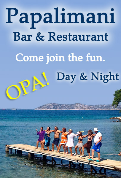 Papalimani Beach Bar & Restaurant on Thassos