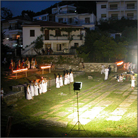 Festival on Thassos Island, Greece