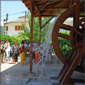 Traditional Olive Mill on Thassos Island, Greece