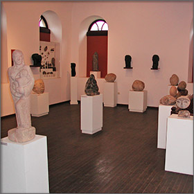 Polygnotos Vagis Sculpture Museum on Thassos Island, Greece