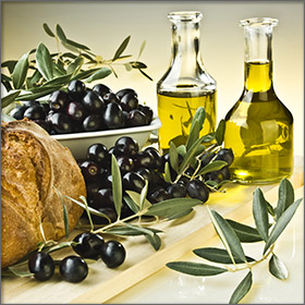 Olives and Olive Oil - Local Products of Thassos Island, Greece