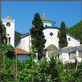 Church of the Virgin Mary in Panagia on Thassos Island, Greece