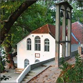 Church of the Virgin Mary in Rachoni on Thassos Island, Greece