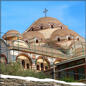 Monasteries & Churches on Thassos Island, Greece