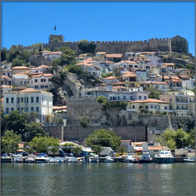 Kavala City, Greece - A famous attraction near Thassos Island