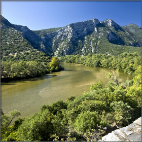 Nestos River Delta, Greece - A famous attraction near Thassos Island