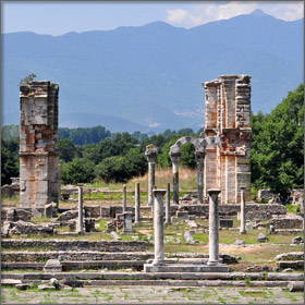 Ancient City of Philippi, Greece - A famous attraction near Thassos Island