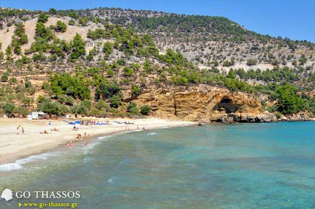 Livadi Beach  Go Thassos