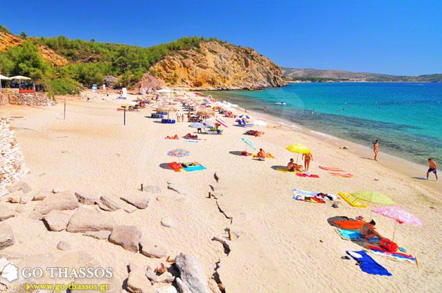 Metalia Beach  Go Thassos