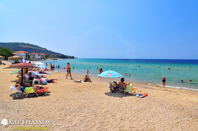 Skala Sotiros Beach Go Thassos