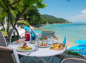 Restaurants Golden Beach Thassos